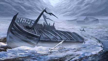 Shipwreck 3 by PavelBaghy