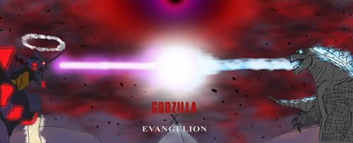 Godzilla X Evangelion II by edCOM02
