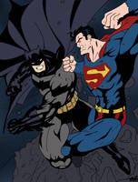 Batman vs. Superman by edCOM02
