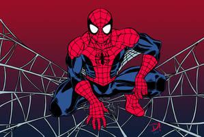 Spider's Web (Colored) by edCOM02