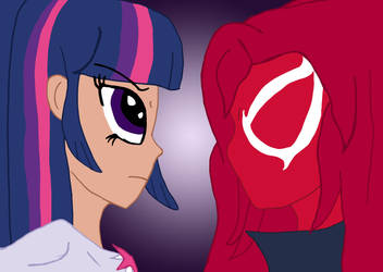 Spiders and Magic: Wrath of the Scarlet Spider by edCOM02