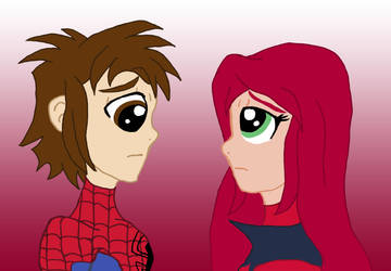 Peter And Scarlet MJ by edCOM02