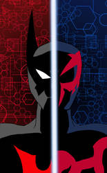 Batman Beyond/Spider-Man 2099 by edCOM02