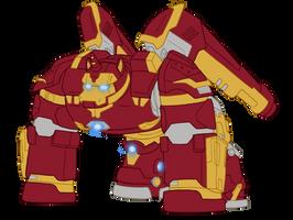 Iron Stallion Hulkbuster Armor by edCOM02