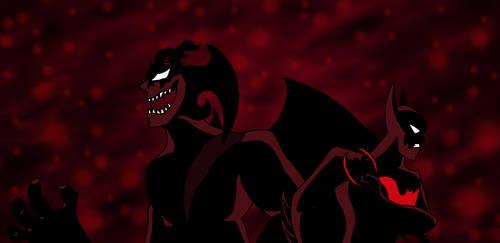 Devilman Crybaby x Batman Beyond by edCOM02