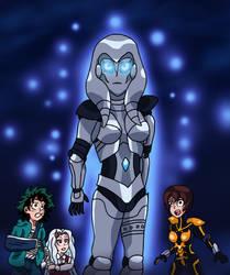 MHA:AOU - Jocasta, the Bride of Ultron by edCOM02