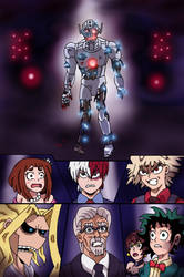 MHA:AOU - Ultron Awakens by edCOM02