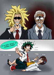 MHA:AOU - It's not what it looks like!!! by edCOM02