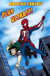 Spider-Man and Deku - Amazing Fantasy by edCOM02