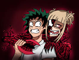 Toga-Carnage wants Deku by edCOM02