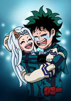 Deku and Eri - You're My Hero by edCOM02