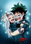 Deku and Eri - You're My Hero by edCOM02
