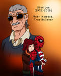 Rest in Peace, True Believer (Tribute to Stan Lee) by edCOM02