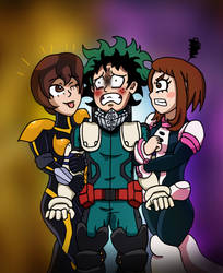 MHA:AOU - Don't Touch Him! by edCOM02