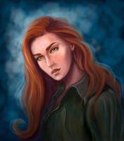 Eloisa Cousland by WildBara