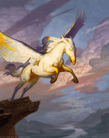 Spirecliff Pegasus by robrey