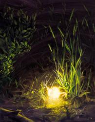 Bioluminescence VI by robrey