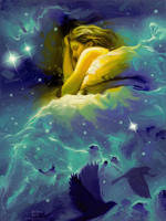 Nestled in Nebulae by robrey