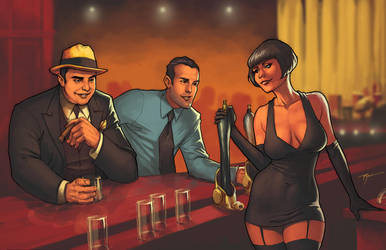 Commish: Capone by johnnyrocwell