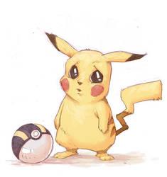 Pikachu by johnnyrocwell