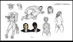 Sketches. . . . by johnnyrocwell