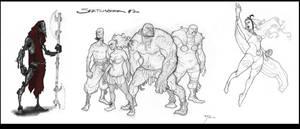 sketchbook 2 by johnnyrocwell