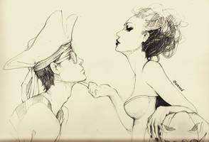 sketch by dreamsCrEaToR