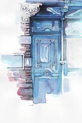 old door by dreamsCrEaToR