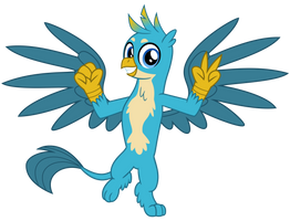 Gallus the Griffon by cheezedoodle96