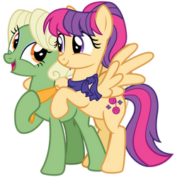 Aunt Holiday and Auntie Lofty #1 by cheezedoodle96