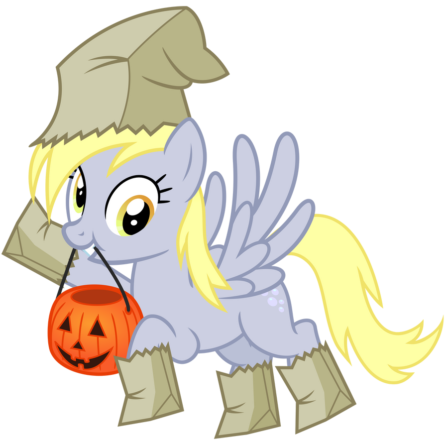 A Derpy Halloween by cheezedoodle96