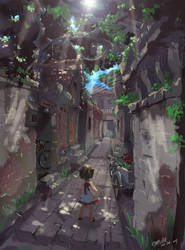 Alley in the Memory by TysonTan