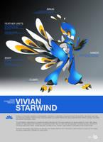 SYNC: Vivian the Robot Peafowl by TysonTan