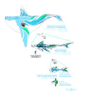 Aqua animals by TysonTan