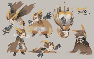 Owlboy Otus Expression Study 02 by TysonTan