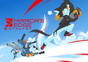Mirrors Edge Catalyst of Zootopia by TysonTan