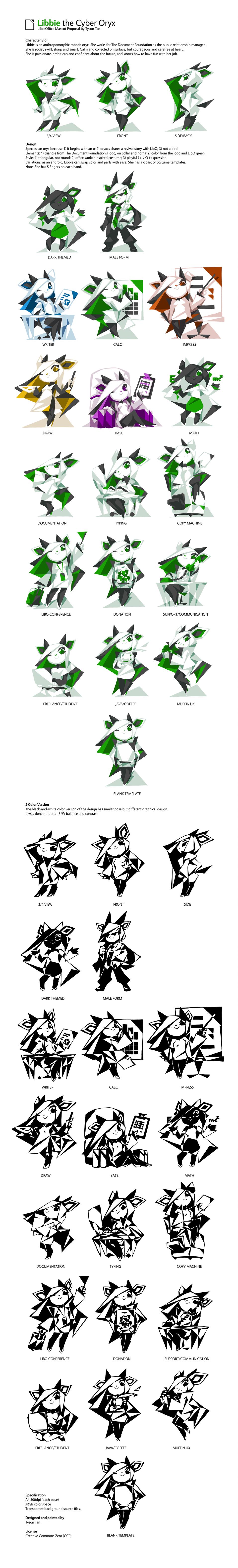Libbie the Cyber Oryx by TysonTan