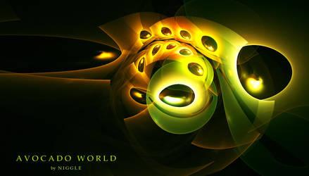 Avocado world by Ni66le