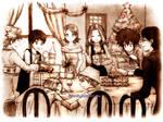 Digimon: Together for Christmas by Detoreik