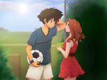 C: Tai and Mimi by Detoreik