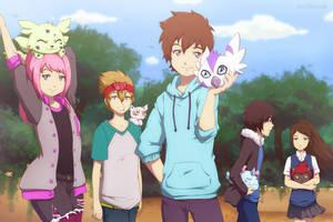 C: Digimon Hyper Virus - Group by Detoreik