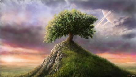 Lone tree by rasty690