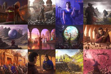 Fantasy artworks by rasty690