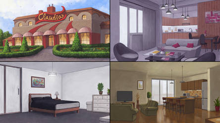 Backgrounds vol 4 by rasty690