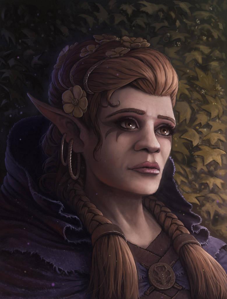 Wood Elf Princess by rasty690