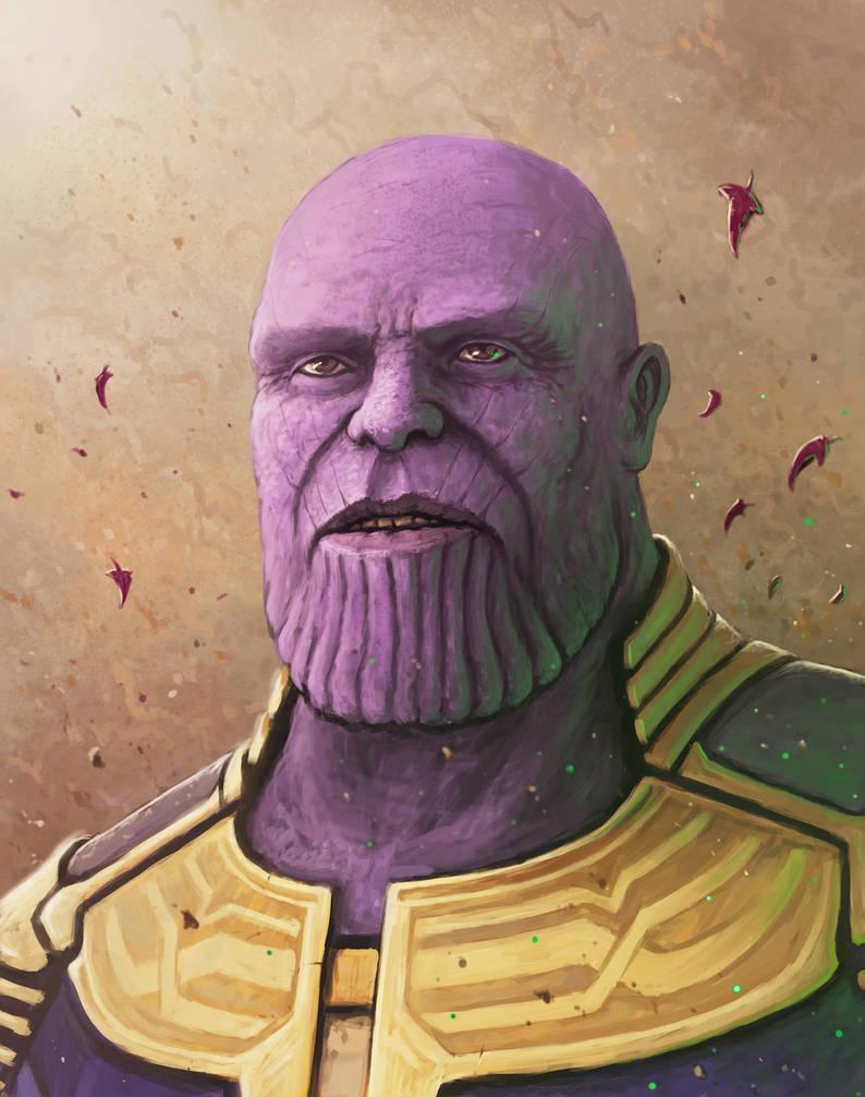 Thanos - The Mad Titan by rasty690