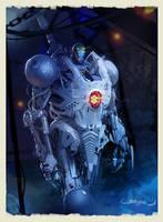 Battlebot speedpaint by Okmer