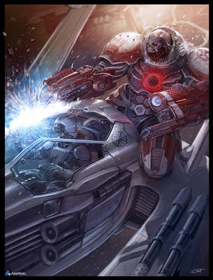 Undead Astronaut advanced Applibot by Okmer