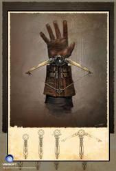Assassin's Creed Unity Conceptart Phantom Blade by Okmer