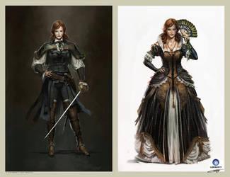 Elise de la Serre Concept design.Ubisoft by Okmer